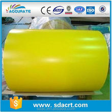 1000mm ral1020 color metallic paper roll color steel