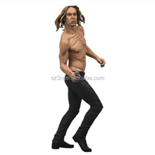 Custom make Super Cool Nude Man Action Figures/Realistic PVC Dancing Figurines/Making Plastic Action Figure