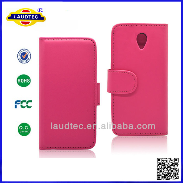 Desire 700 PU <strong>Leather</strong> Cover Flip Wallet <strong>Leather</strong> Case for HTC Desire 700