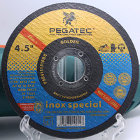 PEGATEC 115x1.6x22.23mm Stainless Steel Cutting Sand Disk