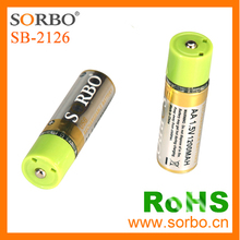 SORBO Wholesale USB Directly Rechargeable Battery Universal 1.5V AA Battery