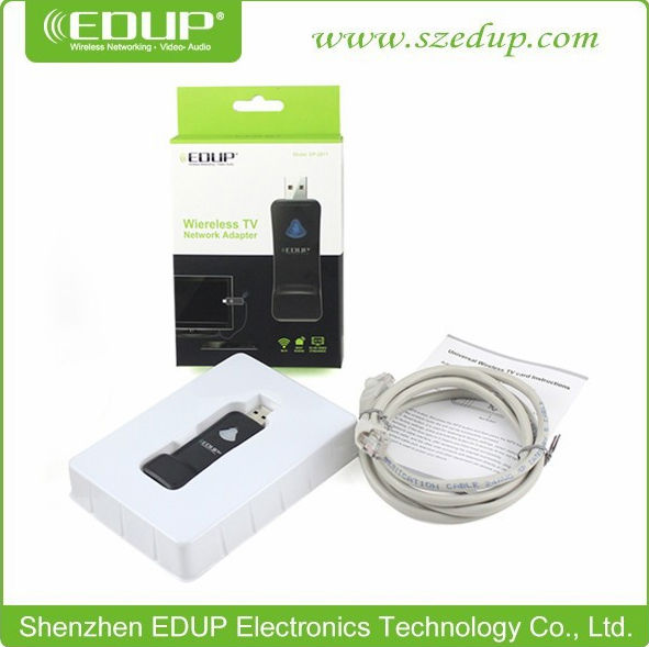 2014 China EDUP brand latest products usb power wireless TV network card with 150Mbps repeater function