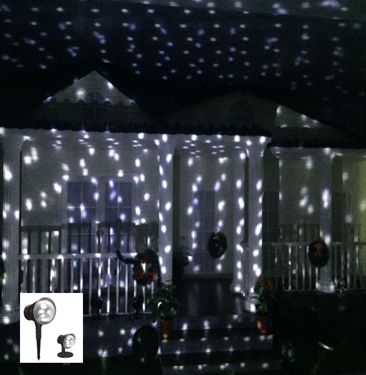 description of christmas snowflake led projector light - Christmas Led Projector