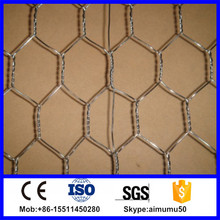 Hot dip galvanized double twisted hexagonal wire mesh