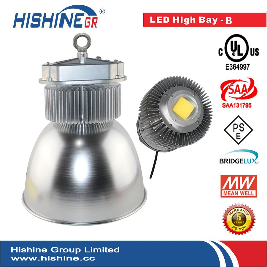 100% Factory R&D led 150w high bay lights+Dust Proof Cover