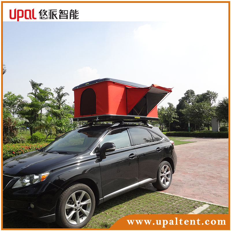 High quality family camping hard shell roof top tent for sale