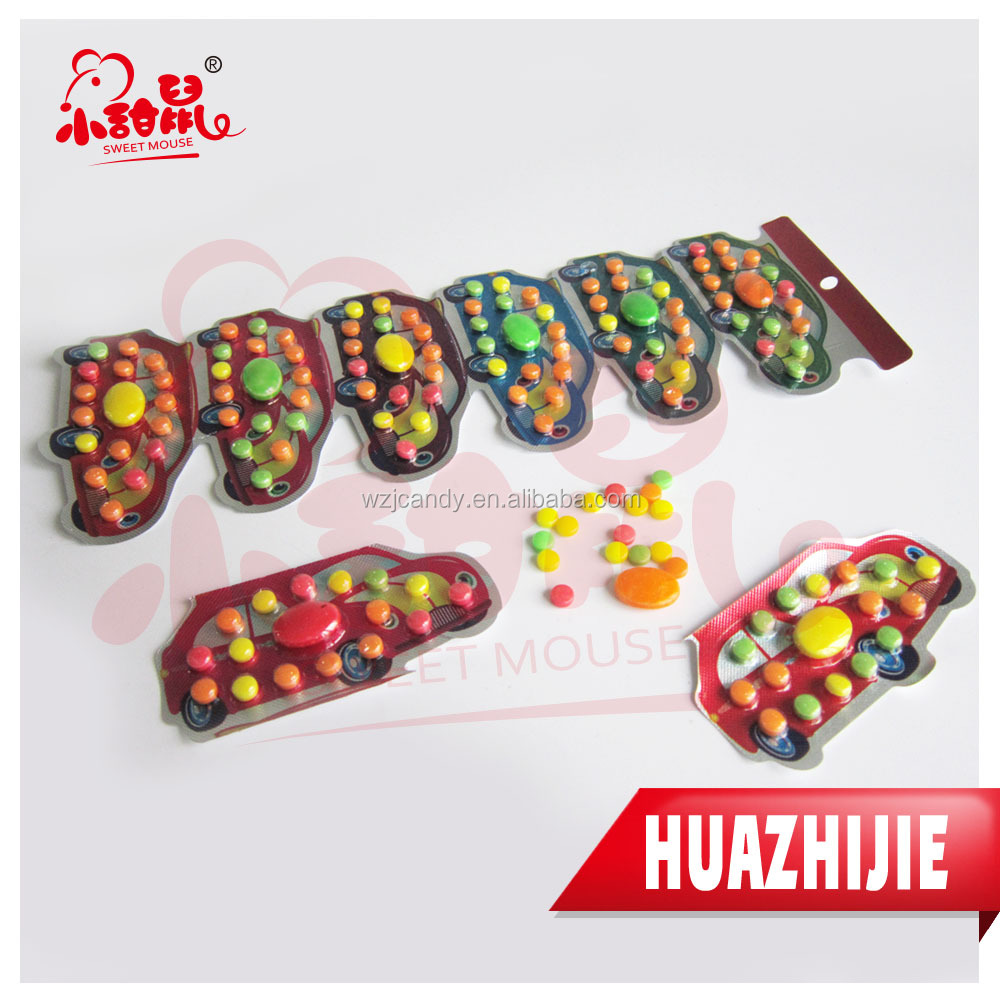 010201610 Africa Cheap Car Shaped Compressed Hard Candy