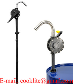 Rotary Hand Chemical Pump / PPS Chemical Drum Pump (GT148)