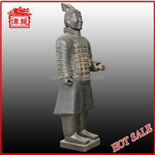 New arriver warrior and horse statue YHT87-2