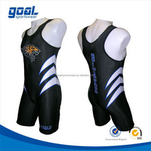 Custom elastic china sublimated cool cheap wholesale men's wrestling singlet