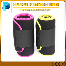 Customized logo Sports Sweat adjustable neoprene waist trimmer belt