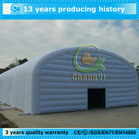 popular inflatable gray luxury marquee tents