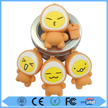 Promotional gift egg shape usb flash drive with free sample