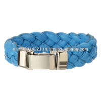 Magnetic Leather Bracelet Clasp