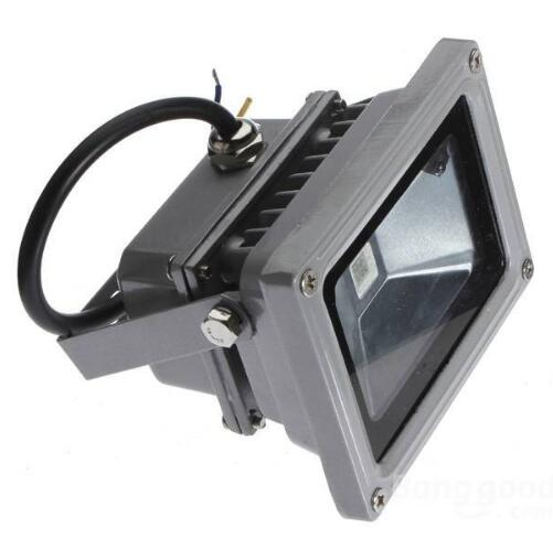 10W RGB Waterproof LED FloodLight 16 Different Colors with Remote Controller For Outdoor Hotel Garden