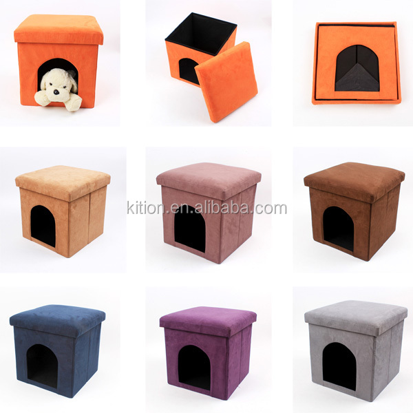 cheap dog house with dog bed cardboard pet house