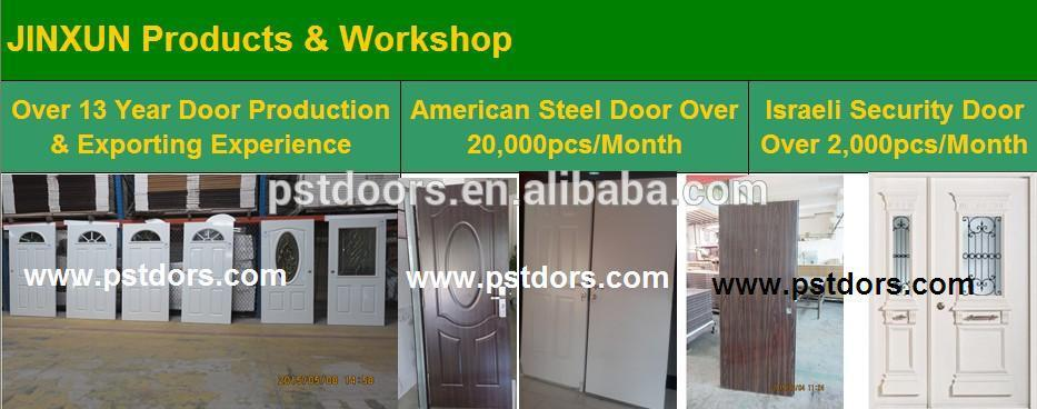 24 Ga. Steel Door Exterior Use White Color