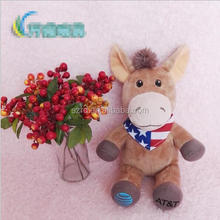 Wholesale popular soft cow elephant stuffed animal toy for character