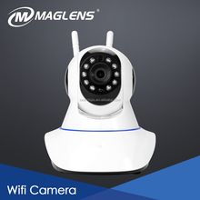 New Products Competitive Wifi Home camera, Home Security Night Vision Pan/Tilt PTZ Camera, DOUBLE wifi p2p ip camera with speake