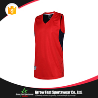 Custom design latest plain basketball jerseys