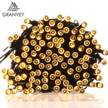 solar decorative commercial fairy lights christmas copper wire string outdoor led pinecone light
