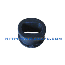Customized flange car system suspension silicone rubber bushing
