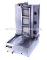 Stainless Steel Gas Shawarma Machine with 3 burners(GB-800)