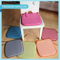 Hot Sell colorful Comfortable Home Polyester office seat cushion / solid color soft seat cushion / cover seat cushion