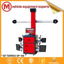 CE Equipment 3D wheel car alignment machine price for sale