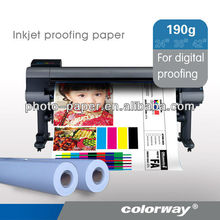 Photo Proofing Paper for prepress proofing system (gloss/semi-gloss/RC base,220gsm, inkjet paper,fotopapier/papel fotografico)