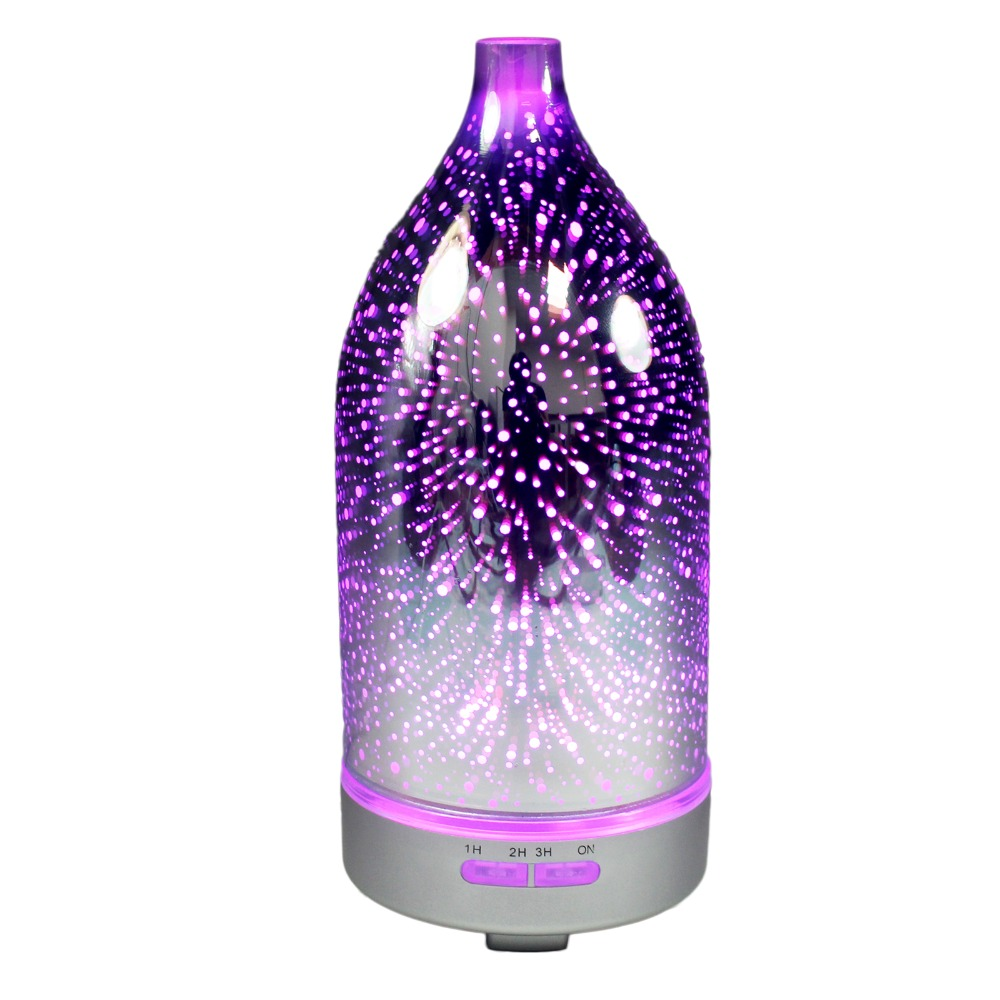 Patent Product 120ML Glass Aroma Air Diffuser For YOGA