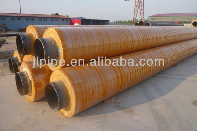 PE Jacket polyurethane thermal insulation pipe
