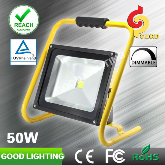 Goodlighting portable power failure light 50w rechargeable led halogen replacement