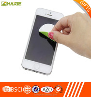 Hot sale PU microfiber sticky mobile phone screen cleaner