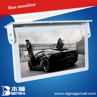 19 inch roof mounted bus led display screen/bus advertising screen