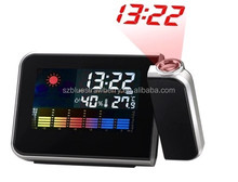 Functional Weather forecast Projection Alarm Clock,Projector Clock