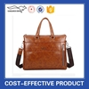 high quality hot sell real leater or pu leather men Business Bag