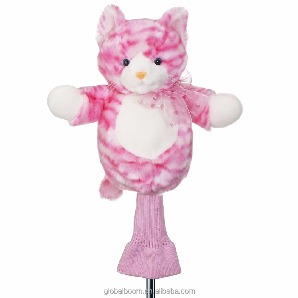 Pink Plush Unicorn/ Flamingo /Cat 460cc Golf Head Covers for Woods and Drivers