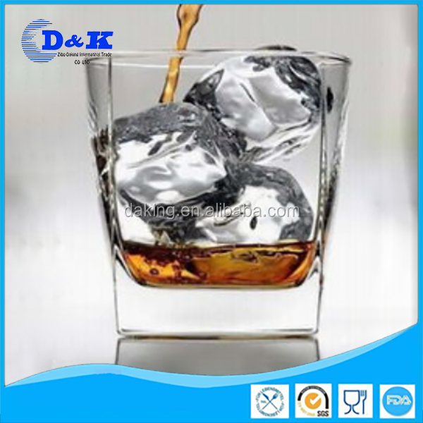 whisky wholesale square bottom drinking glass
