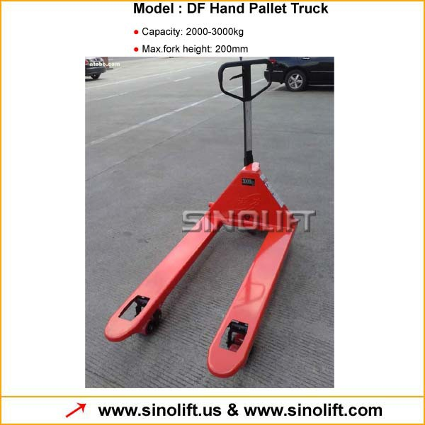 Hot - DF Hydraulic Pallet Truck with CE Certificate