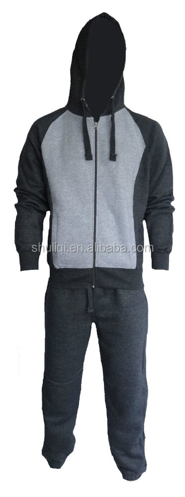 2016 latest design men winter tracksuit custom, fleece tracksuit cheap wholesale