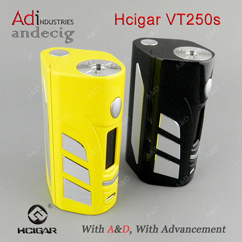 2017 Evolv 250W TC 2&3 batteries Hcigar VT250S ecigarette dna 200 mod vt box mod