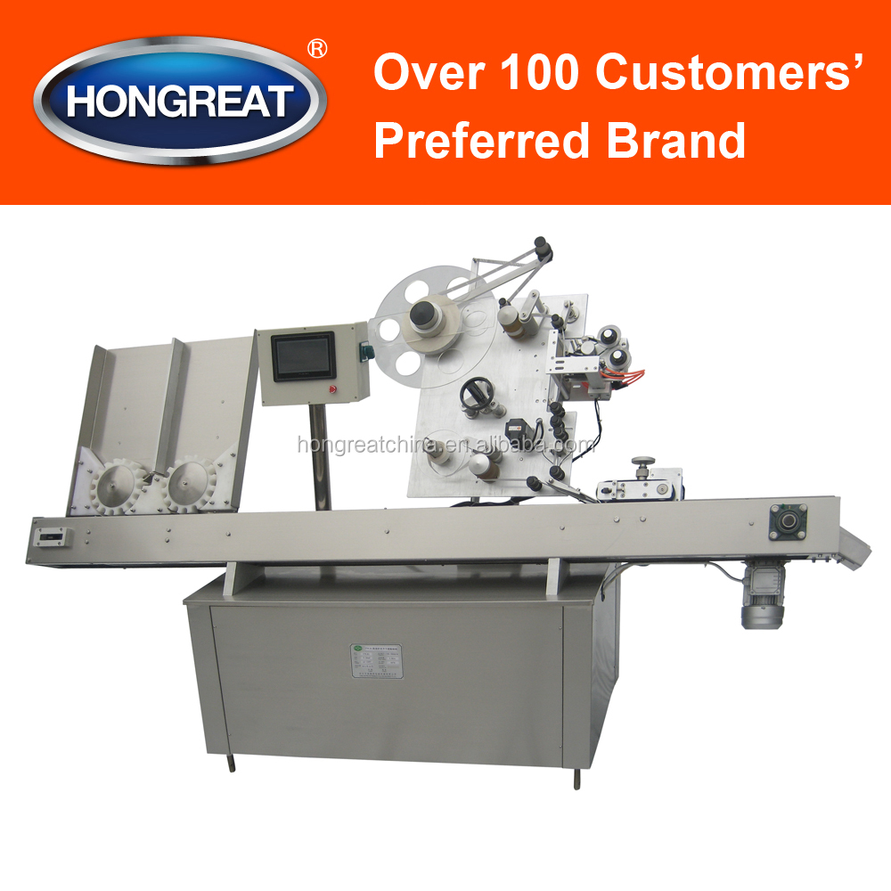 High-speed Adhesive Sticker Labeling Machine for Pills, Food, Beverage, Cosmetic Bottles