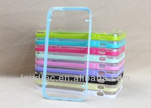 Crystal TPU+ PC Case for iPhone 5/5S, Stylish Hot Selling Back Cover for iPhone 5 5S