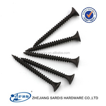 2018 hot sale black phosphate 3.5X25MM MODIFIED TRUSS HEAD DRYWALL SCREW SELF-TAPPING SCREW