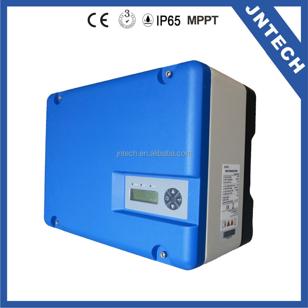 Jntech 7500W AC 380V/460V Solar Power Pump Inverter for Submersible Water Pump
