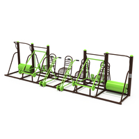High Quality Outdoor Metal Playground Combination Fitness Equipment Multifunctional Gym Equipment