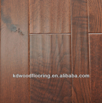 Countryside style Multi layer dark color oak engineered flooring