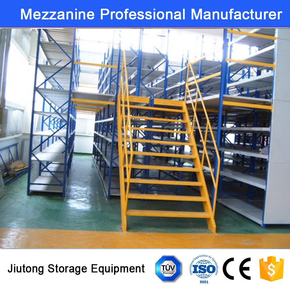 Warehouse Storage Mezzanine Floor Racks for Medium Duty Goods