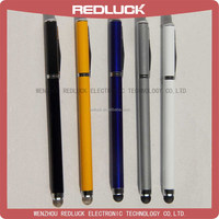 Multi-color for tablet 2 in 1 ballpoint pen and Capacitive stylus tip pen for all Phone and Tablet